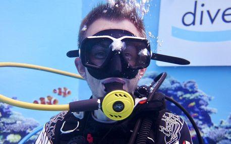 Potápění na zkoušku nebo kurz pro děti i dospělé