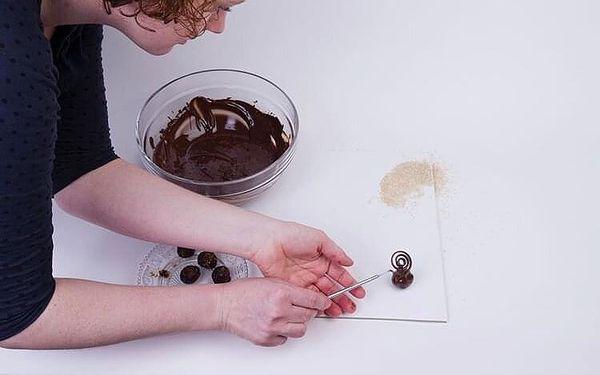 Čokoládové lanýže Tereza