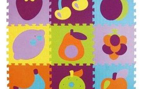 Baby Great Pěnové puzzle Barevné ovoce SX (30x30)