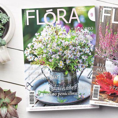 Roční předplatné časopisu Flóra s bonusem