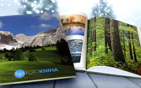 Fotokniha A4 na křídovém papíře v tvrdých deskách