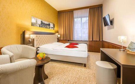 Třeboň, Hotel Zlatá Hvězda**** s velkým množstvím procedur