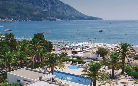 Černá Hora - Bečići na 8-10 dnů, snídaně v ceně