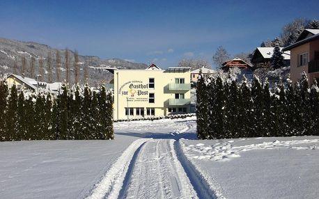 Rakousko - Korutany na 4-6 dnů, snídaně v ceně