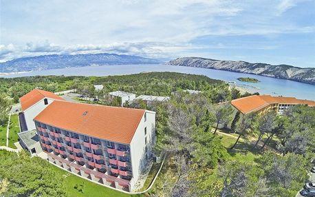Chorvatsko - Rab na 5 dnů, polopenze