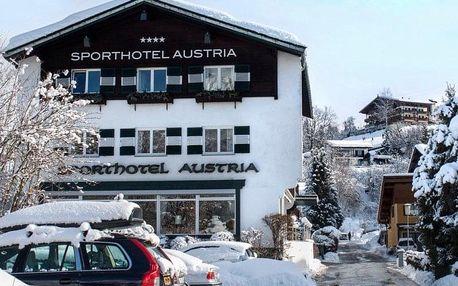 Rakousko - Kitzbühel / Mittersill na 8 dnů, polopenze