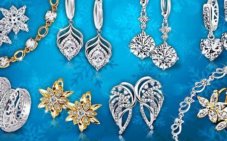 Třpytivé náušnice a náramky La Diamantina