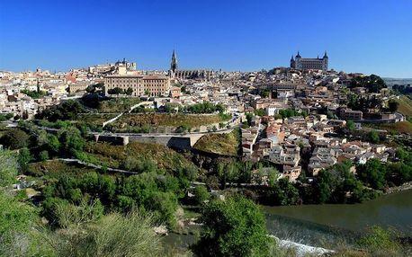 Španělsko - Madrid letecky na 4 dny, snídaně v ceně