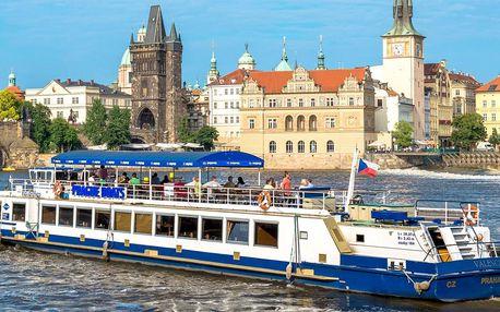 50minutová plavba po Vltavě pro děti i dospělé