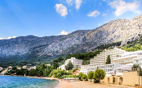 Chorvatsko - Podgora na 8-9 dnů, polopenze