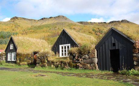 Island letecky na 9 dnů, strava dle programu