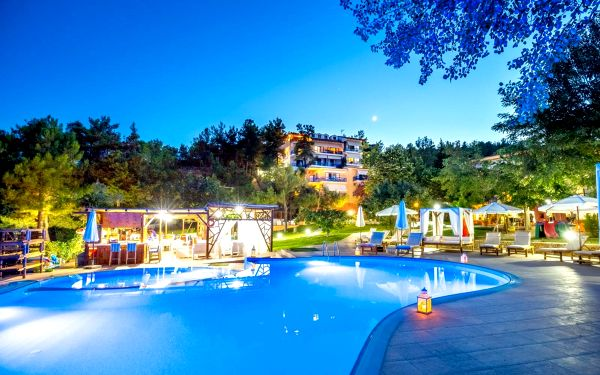 Hotel Rodon House, Thassos, letecky, polopenze5