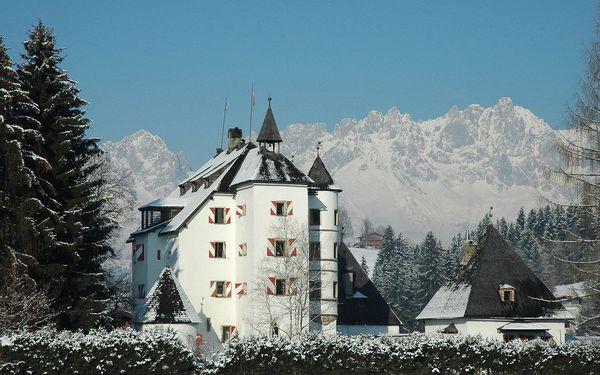 Hotel Schloss Münichau, Tyrolsko, vlastní doprava, polopenze3