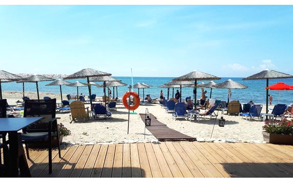 Hotel Anna Beach, Thassos, letecky, bez stravy5
