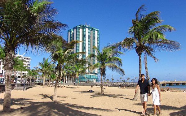 Španělsko - Lanzarote letecky na 8 dnů, snídaně v ceně
