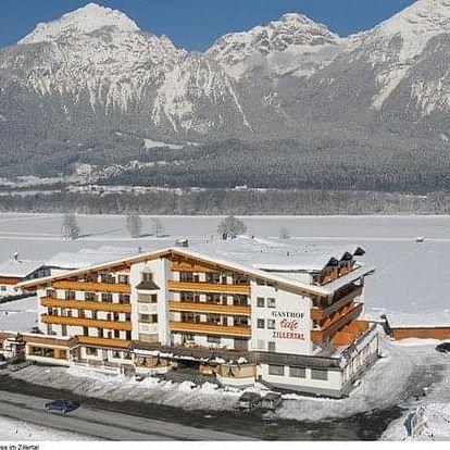 Rakousko - Hochzillertal / Hochfügen na 4 dny, polopenze