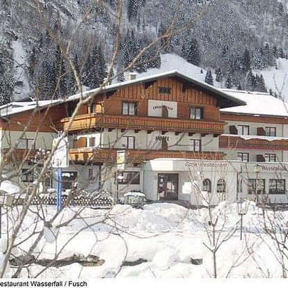 Rakousko - Kaprun - Zell am See na 3-8 dnů, polopenze