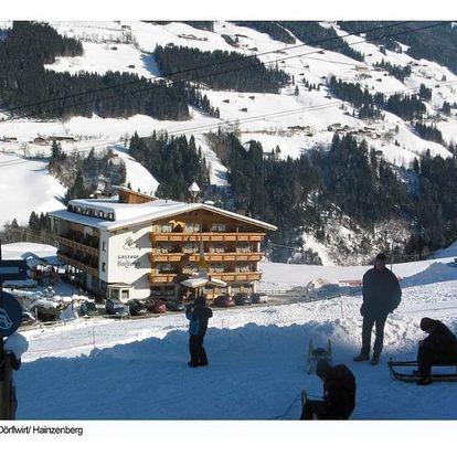Rakousko - Zillertal na 4 dny, polopenze