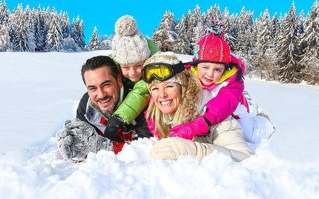 Zimní relax v Harrachově s polopenzí a procedurami