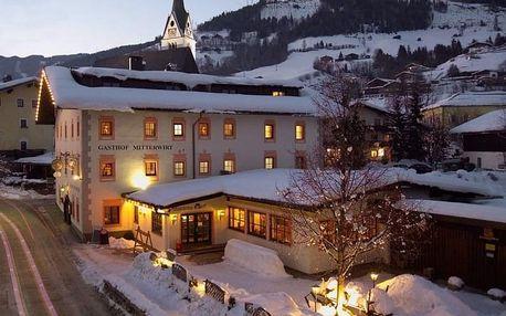 Rakousko - Kaprun - Zell am See na 4 dny
