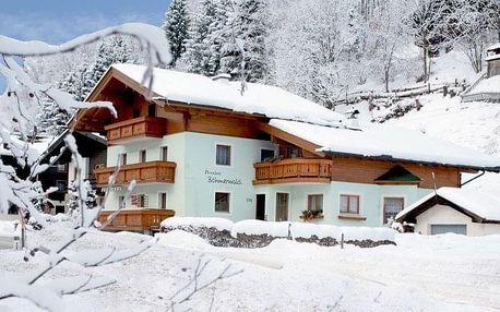 Rakousko - Saalbach - Hinterglemm na 4-8 dnů, snídaně v ceně