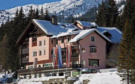 Rakousko - St. Anton na 4 dny, polopenze