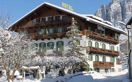 Itálie - Cortina d'Ampezzo na 4-8 dnů, polopenze