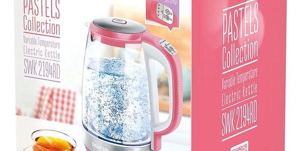 Sencor SWK 2194RD konvice, růžová2