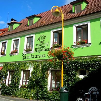 Třeboňsko: Hotel Myslivna