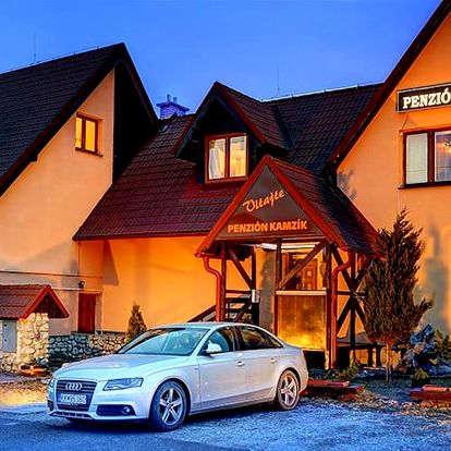 Vysoké Tatry: polopenze i možnost welness