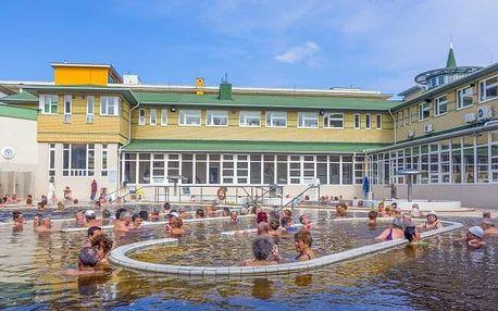 Dokonalý relax v lázních Hajdúszoboszló v Hotelu Barátság *** s termálním wellness a polopenzí
