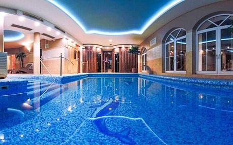 Maďarsko jen 150 m od termálních lázní v Xavin Hotelu Harkány **** s polopenzí + děti do 5 let zdarma