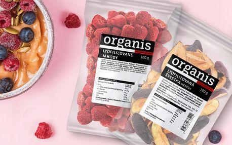 Lyofilizované ovoce plné vitamínů: višeň, mango aj.