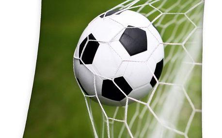 Herding Dětská deka fotbal, 130 x 160 cm