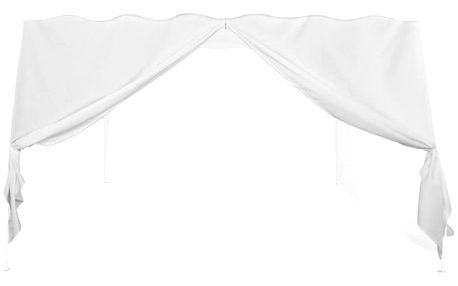 INSTENT 36848 Náhradní boční stěna ke stanu se zipem - bílá