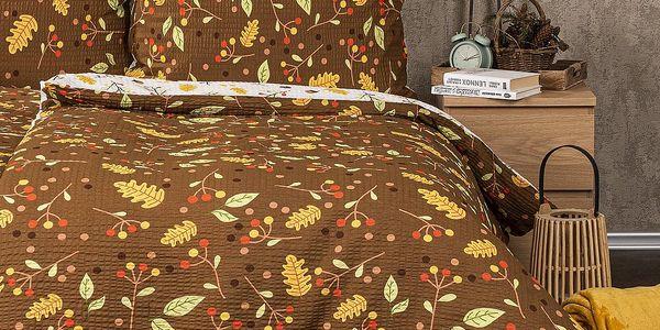 4Home Krepové povlečení Podzim, 140 x 200 cm, 70 x 90 cm2