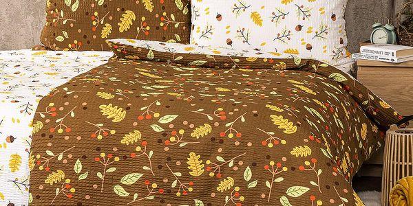 4Home Krepové povlečení Podzim, 140 x 200 cm, 70 x 90 cm