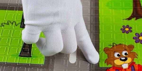 PlayTo hrací podložka Cesta zelená3