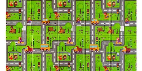 PlayTo hrací podložka Cesta zelená4