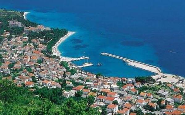 Chorvatsko - Baška Voda autobusem na 10 dnů, polopenze