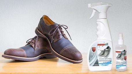 Sprej do bot s nanostříbrem: 100 nebo 600 ml