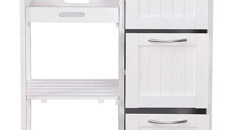 Miadomodo 74233 Kuchyňský vozík na kolečkách