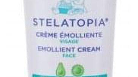 Mustela Bébé Stelatopia® Emollient Cream 40 ml zklidňující krém pro miminka s atopickou pokožkou pro děti