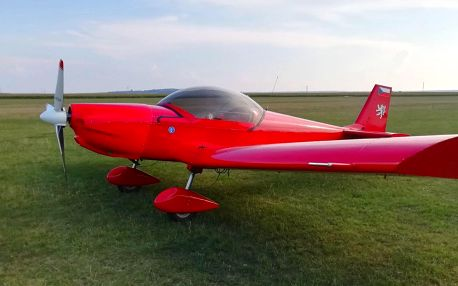 Pilotem sportovního letounu Zenair na zkoušku