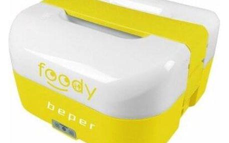 BEPER BC160G elektrický obědový box 1.6l, duální napájení, žlutý