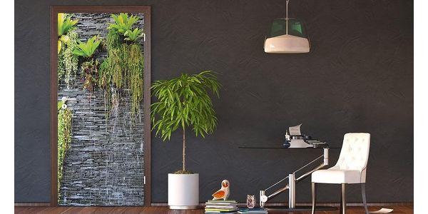 Vertikální fototapeta Green in the wall, 90 x 202 cm2