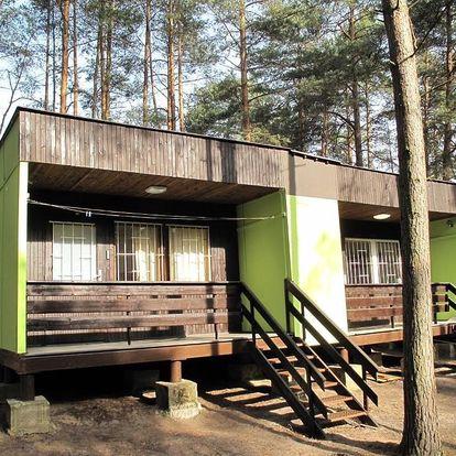 Máchovo jezero: Moderní chata Máchovo jezero - Staré Splavy