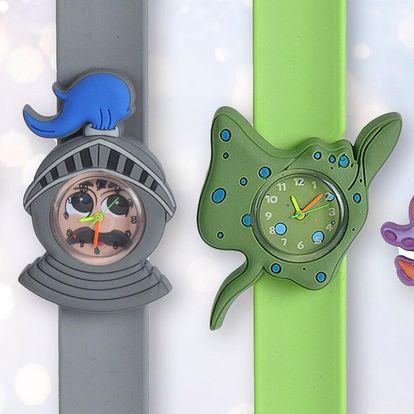Dětské silikonové hodinky se zábavnými ciferníky