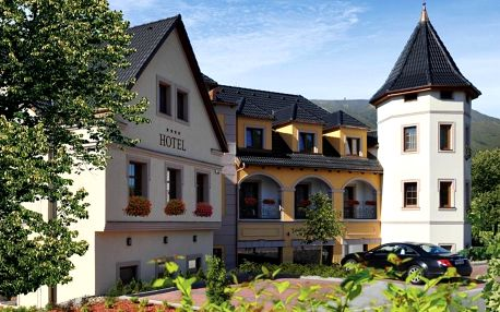 České středohoří: Zlatá Lípa – Wellness Hotel