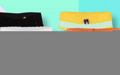 Bikini kalhotky a tanga v různých barvách
